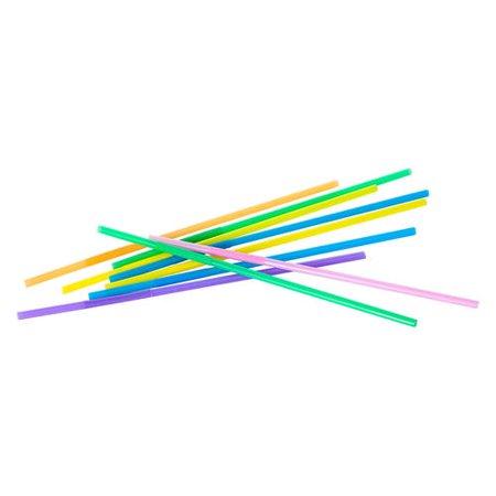 7 Color MIX Plastic Drinking Flexible Straws 50Pcs LIVINGbasics™ - image 2 de 3