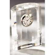 Dome Clock OPTICAL CRYSTAL