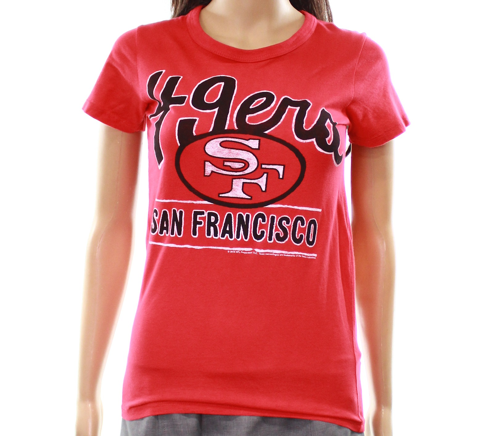 Junk Food Junk Food New Red Women S Size Large L 49ers San