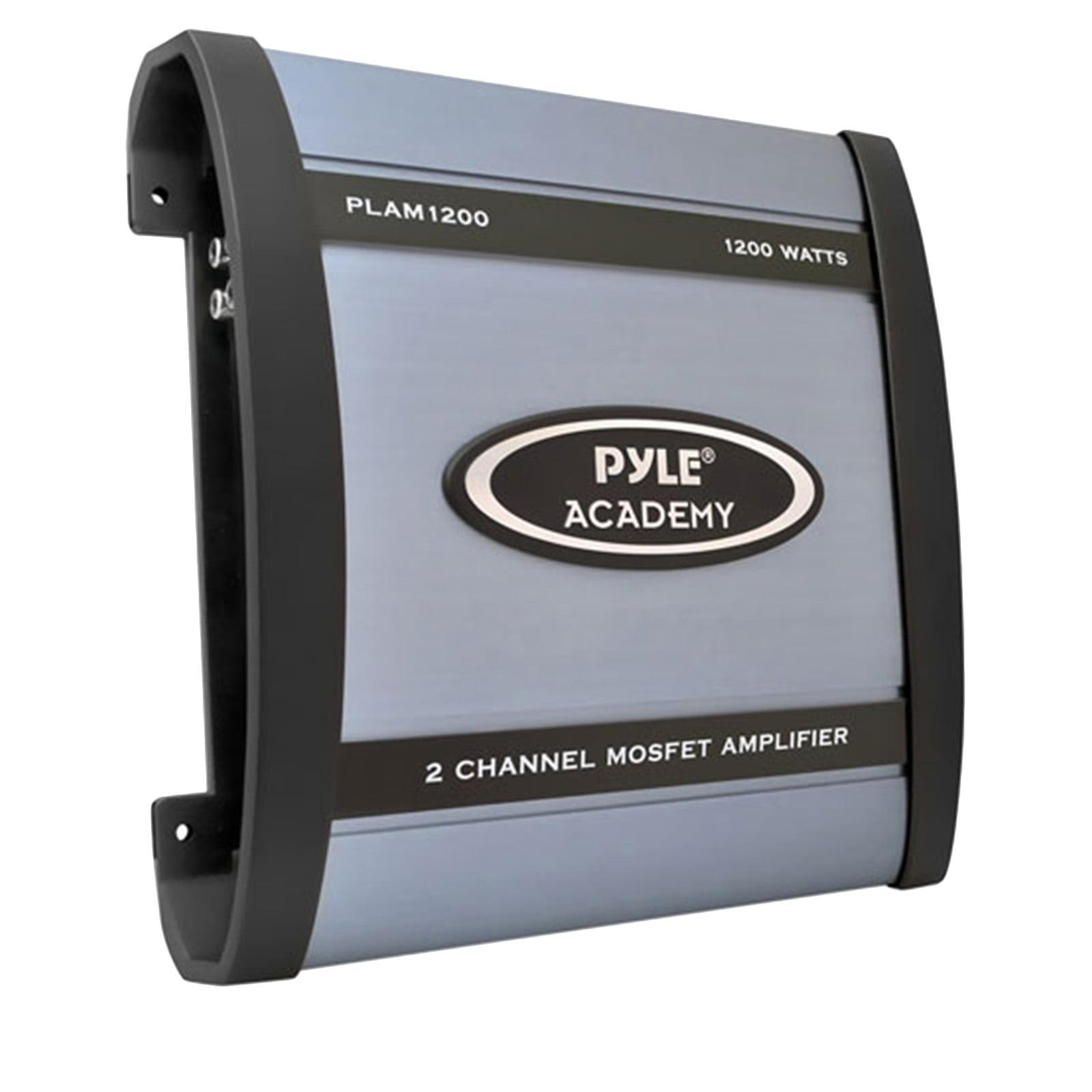 1200 Watts 2 Channel Bridgeable Amplifier