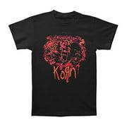 Korn Men's  Three Faces 09 Tour T-shirt Black