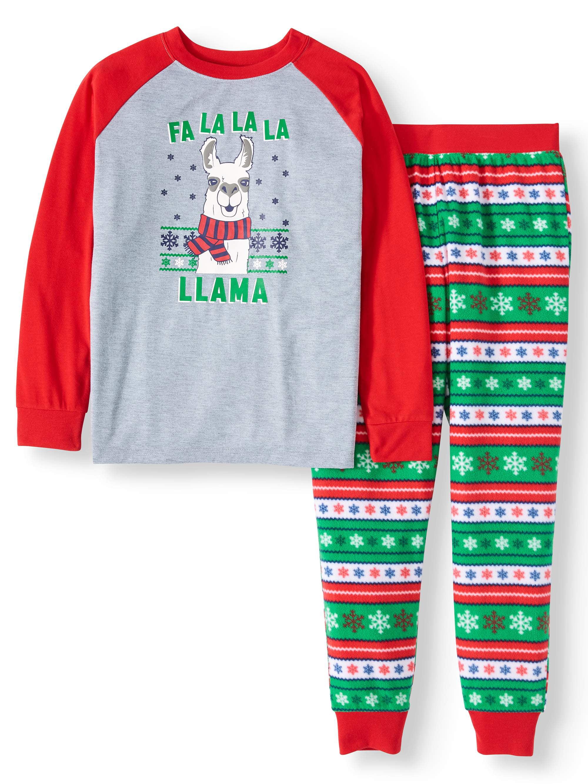 Holiday Time Infant /& Toddler Boys I Dream of Sleepwear Christmas Pajama Set