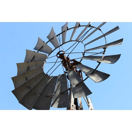 LAMINATED POSTER Sky Power Windmill Energy Nature Farm Wind Poster Print 24 x 36