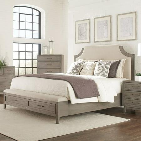 Riverside Furniture Vogue Upholstered Storage Bed - Halloween Stores In Riverside