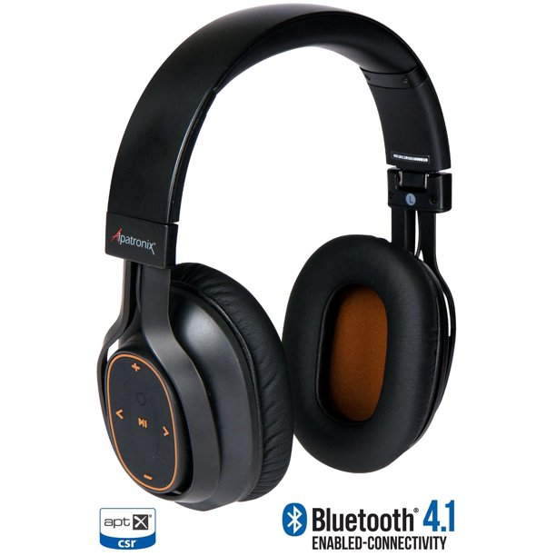 Alpatronix Hx101 Wireless Bluetooth Headphones Over Ear Noise Canceling Headset Walmart Com Walmart Com