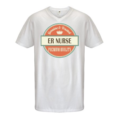 Mens Halloween Costumes Ideas Homemade (ER Nurse Funny Gift Idea Men's V-Neck)