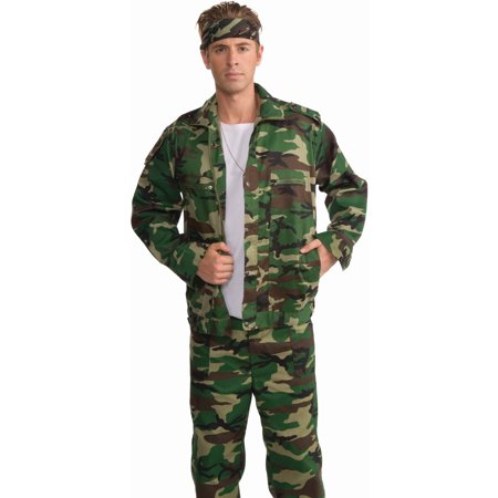 Adult Camouflage Army Military Soldier Jacket