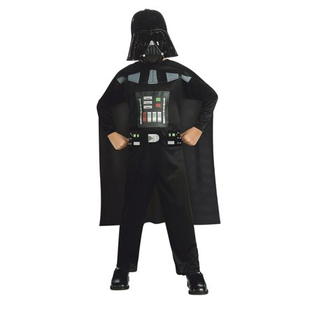Star Wars Boys Child Promo Darth Vader Halloween Costume - Darth Vader Costume Replica