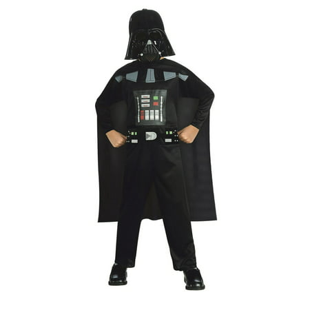 Star Wars Boys Child Promo Darth Vader Halloween Costume
