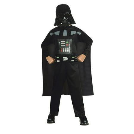 Star Wars Boys Child Promo Darth Vader Halloween Costume - Darth Vader Halloween Costume
