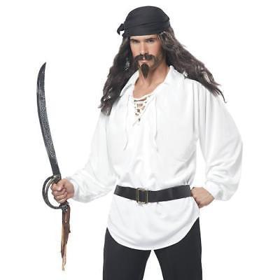 IN-13686998 Pirate Wig & Facial - Pirate Facial Hair