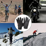 1 Pair Winter Windproof Touch Screen Full Finger Cycling Gloves For Smart Phone motorcycle gloves Bike Bicycle Motor Riding Sports
