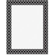 Trend, TEP11425, Moroccan Black Design Printer Paper, 50 / Pack, Black,White