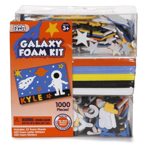 Darice Foam Kit, Galaxy