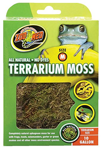 All Natural Reptile Terrarium Moss Substrate 10 Gallon, Fast shipping,Brand Royal by