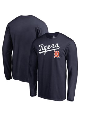 92bf030f35dab2 Product Image Detroit Tigers Fanatics Branded Big   Tall Cooperstown  Collection Wahconah Long Sleeve T-Shirt -
