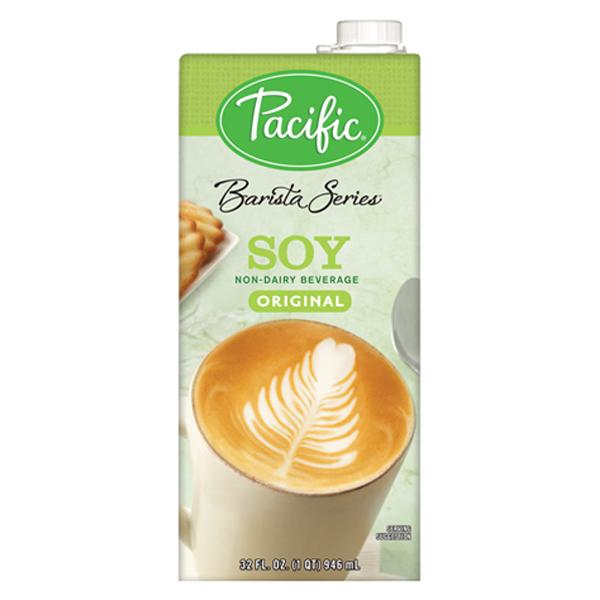 Pacific Natural Foods Barista Series Soy Milk 32 oz Conta...