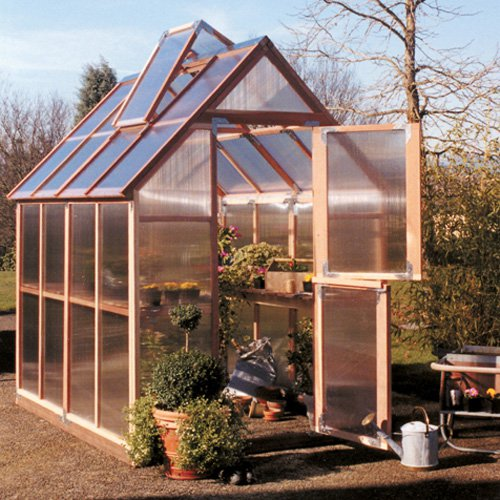 Sunshine Mt. Hood 6 x 8 Foot Greenhouse Kit