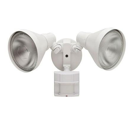 180 Degree White Motion-Sensing Outdoor Security-Light  (Store Return)