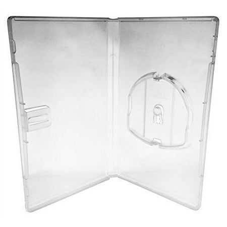 Official OEM Genuine Sony PSP Clear Empty Game or Movie Case With Plastic Sleeve