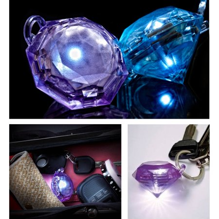 1 GlitzSee Motion Activated Purse Light Gem Diamond Key Finder Handbag Keychain