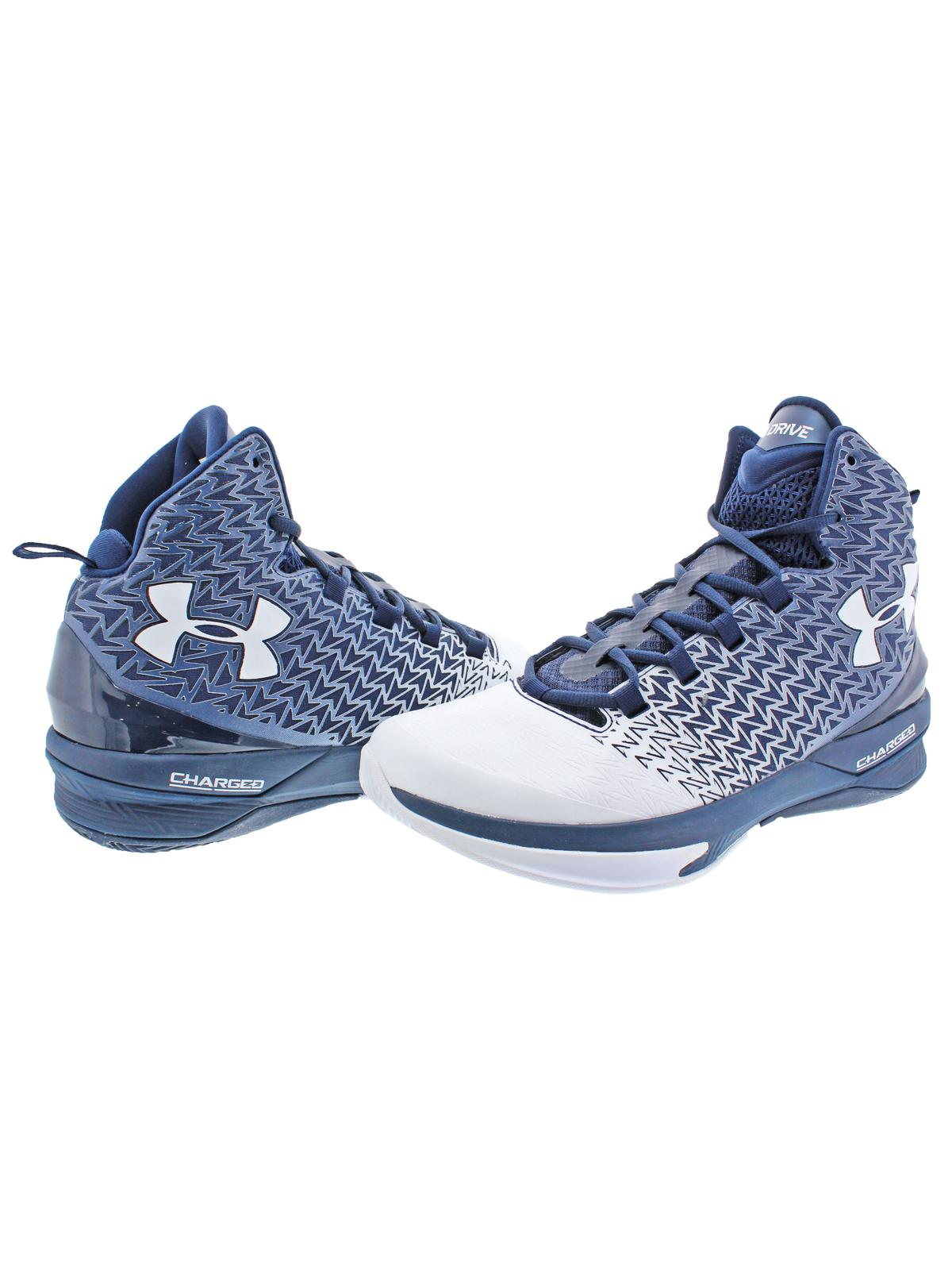 7207f1e10800 Under Armour - Under Armour Mens Clutchfit Drive 3 High Top Charged Basketball  Shoes - Walmart.com