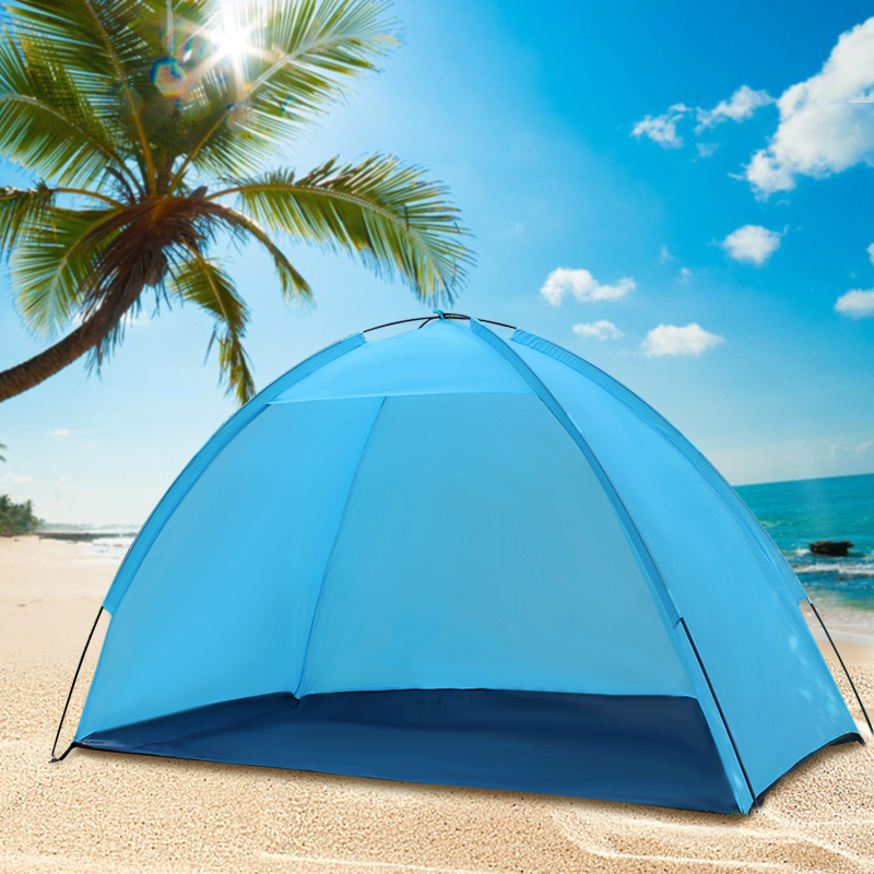 2 People Pop Up Portable Beach Canopy Sun Shade Shelter Outdoor Camping Fishing