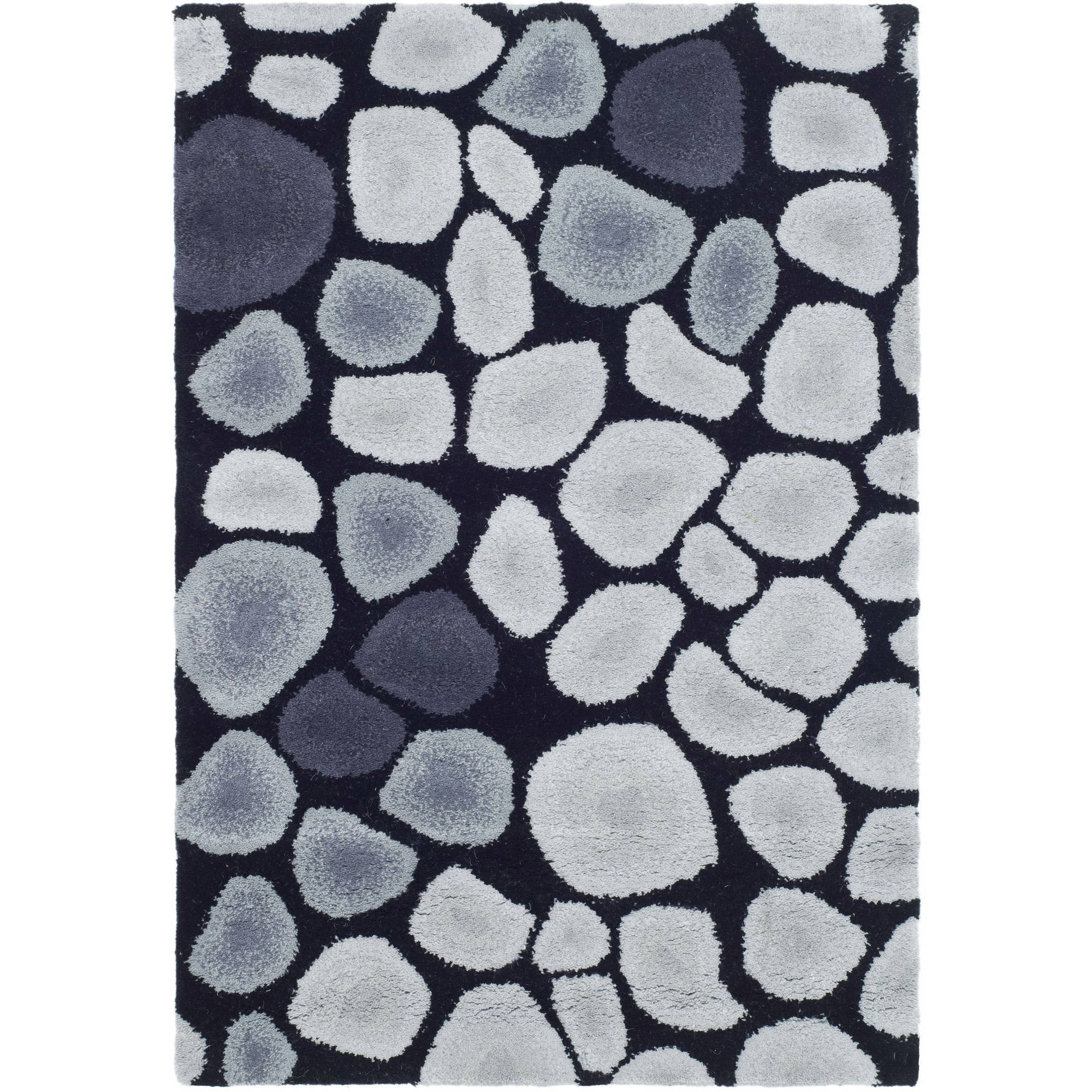 Safavieh Soho Stones Accent Area Rug, Gray and Black