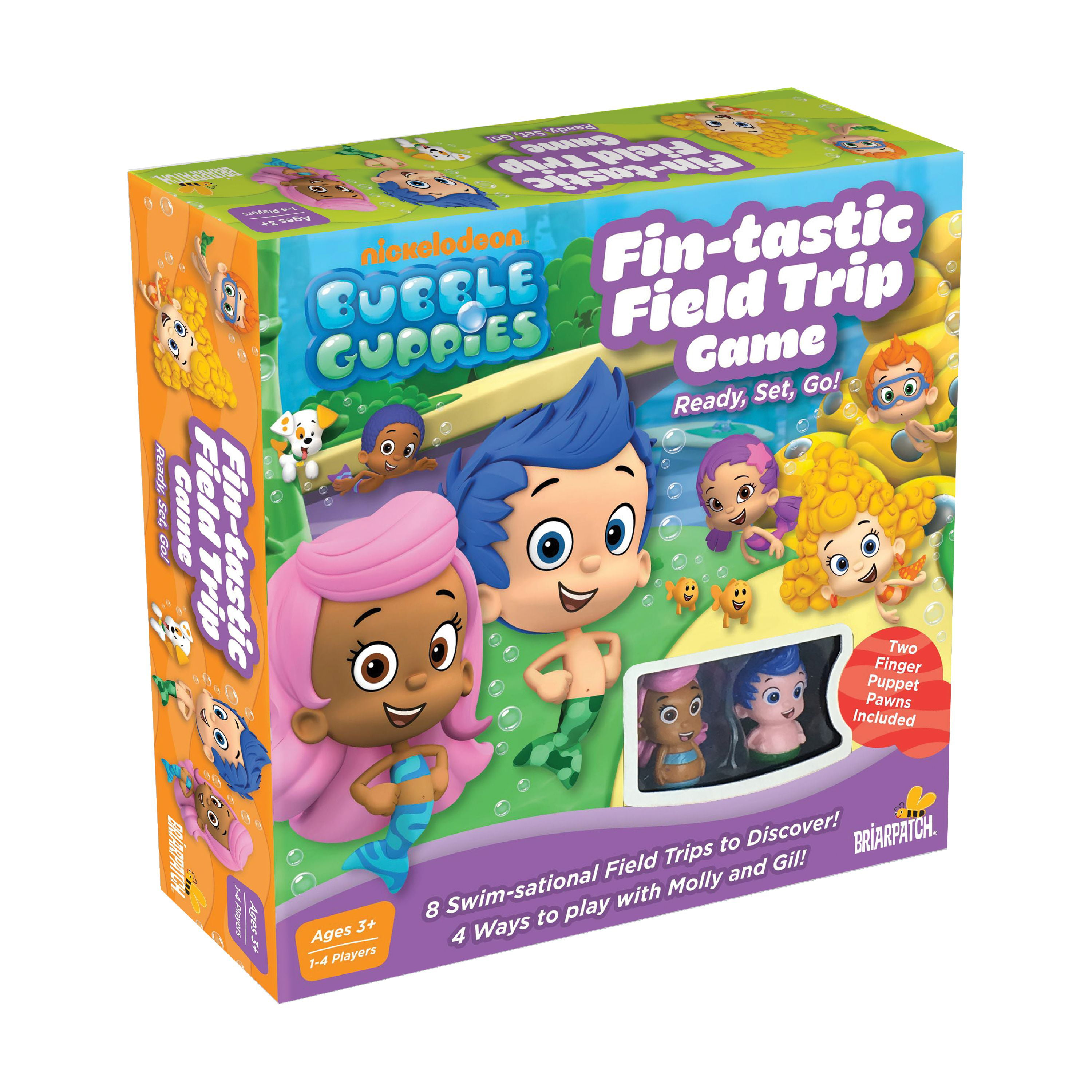 BUBBLE GUPPIES Fin-tastic Field Trip Board Game Review ...