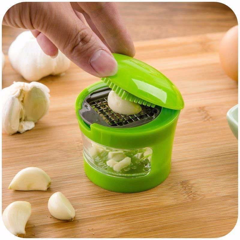 Multifunctional device cut shredder garlic mashed garlic press Garlic Chopper