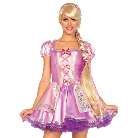 Morris Costumes UAA2674 Rapunzel Blonde Wig Costume](Rapunzel Costume And Wig)