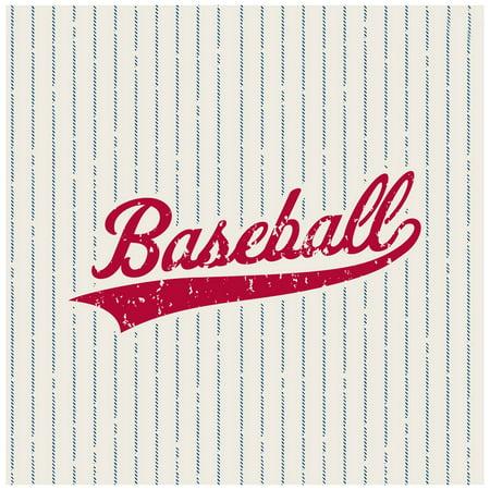 Baseball Party Supplies 48 Pack Lunch Napkins - Baseball Napkins