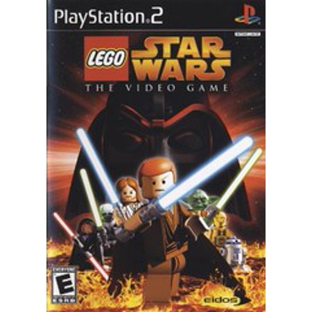 LEGO Star Wars - PS2 Playstation 2 (Refurbished) (lego star wars ps2 game)