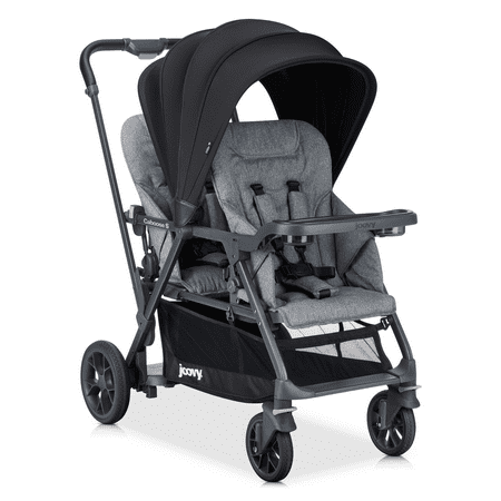 - Joovy® Caboose S™ Too Sit and Stand Stroller in Grey Melange