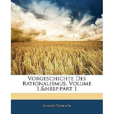 Vorgeschichte Des Rationalismus, Zweiter Theil (German Edition) - image 1 de 1