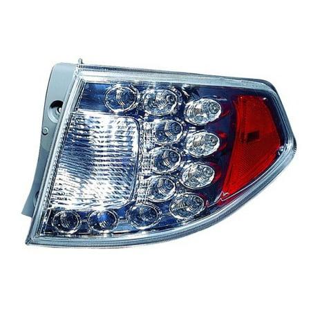 Go-Parts » 2008 - 2014 Subaru Impreza Rear Tail Light Lamp Assembly / Lens / Cover - Right (Passenger) Side Outer - (Wagon + WRX + WRX Limited + WRX Premium + WRX STI + WRX STI Limited + WRX STI)