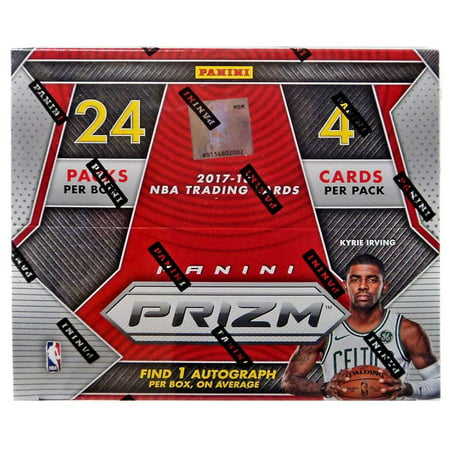NBA Basketball 2017-18 NBA Prizm Trading Card RETAIL Box [24 Packs]