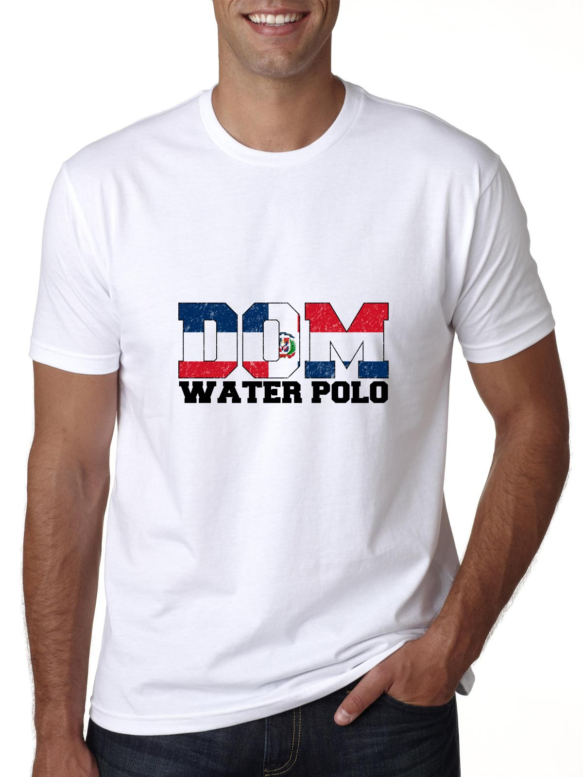 Olympic Water Polo Dominican Republic Men's T-Shirt by Hollywood Thread
