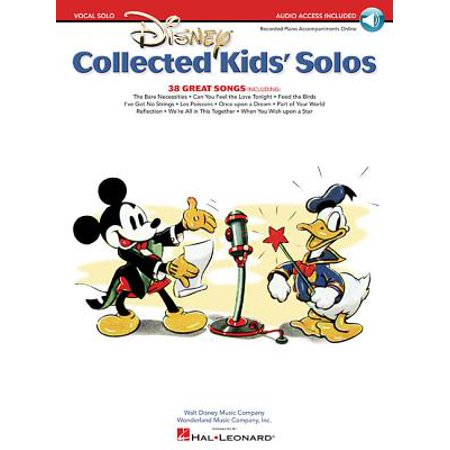Disney Collected Kids' Solos : With Companion Recorded Accompaniments Online