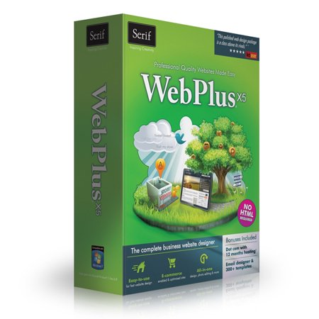 Serif WebPlus X5 - Professional Sites Made Easy- XSDP -WPX5USDPRT - Serif WebPlus X5 is the ultimate website design software for small businesses, organizations, and home users.  You don't need t ()