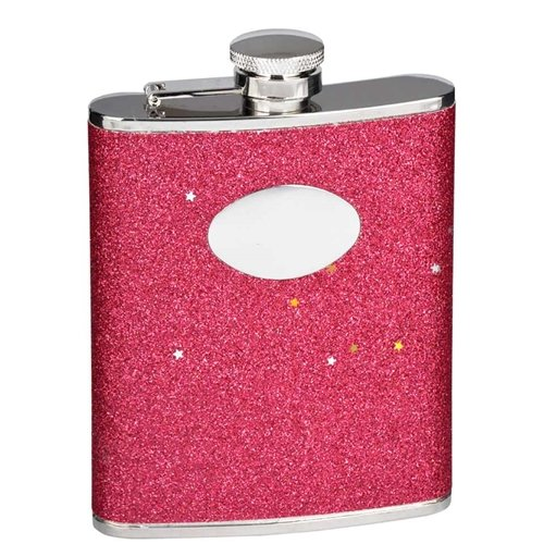 Visol Products Carina Stainless Steel Hip Flask