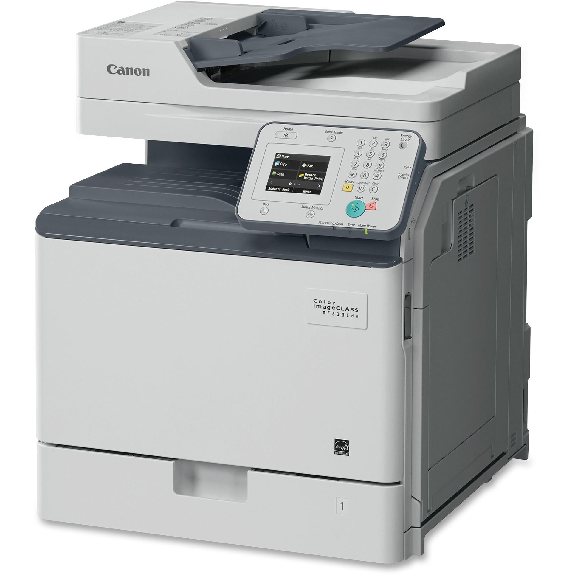 Canon Color imageCLASS MF810Cdn Multifunction Laser Printer, Copy/Fax/Print/Scan