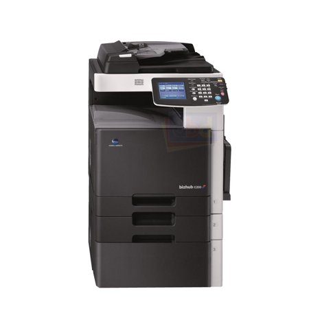 Refurbished Konica Minolta BizHub C200 A3 Color Laser Multifunction Copier - 20ppm, Copy, Print, Scan, Auto Duplex, Network, 600 x 600 dpi, 2 Trays, (Konica Minolta Qms Fax)