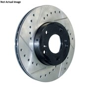 StopTech 127.33028R StopTech Sport Rotors; Drilled And Slotted; Front Right;11.02 in. Dia.; 1.55 in. Height;