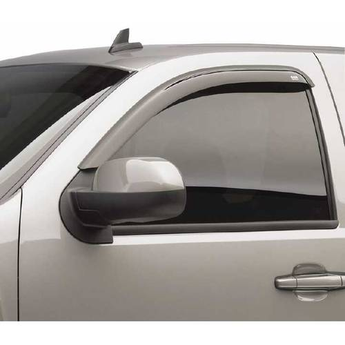 Egr 04-13 Titan Crew/King Cab/Armada 2-Piece In Channel Slimline Windowvisors, Dark Smoke