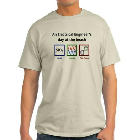 81e79ab74690 CafePress - CafePress - An Electrical Engineer s Day At The Beach T-Shirt -  Light T-Shirt - CP - Walmart.com