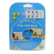 BulbAmerica 16.4 ft. 480 LED Warm White - Cool White Waterproof LED Strip Kit