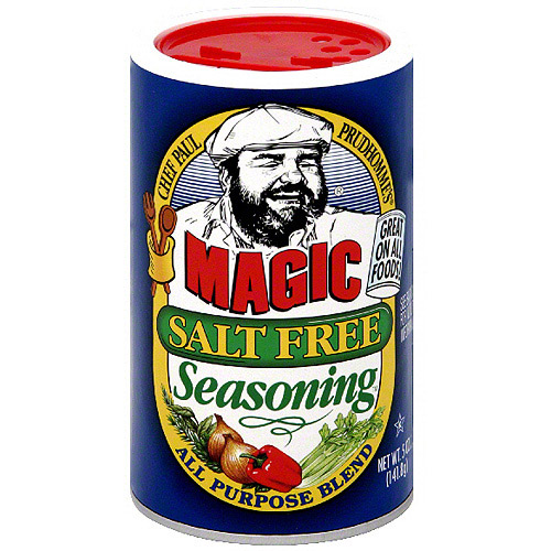 Chef Paul Prudhomme's Magic Salt Free Seasoning, 5 oz (Pack of 6)