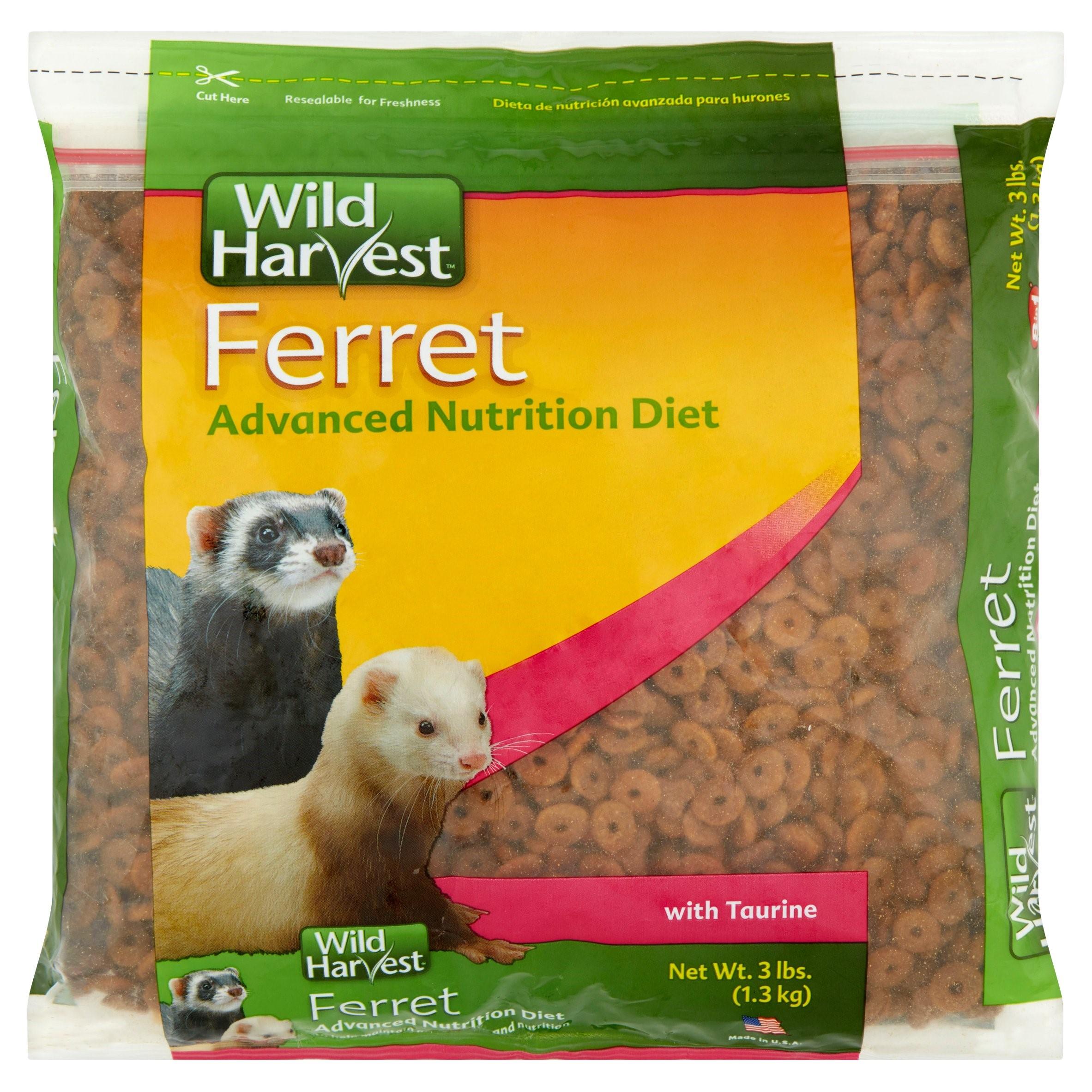 Wild Harvest Advanced Nutrition Diet Ferret Food, 3 lbs