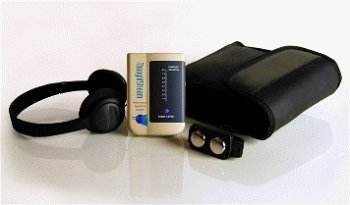 Thoughtstream Portable Biofeedback Device With Mind Games Software Serial Cable by